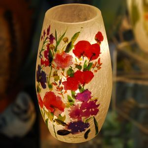 Mixed Flower Lamp