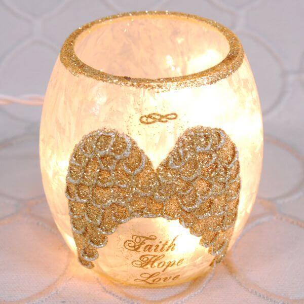 Angel Wing Votive Light