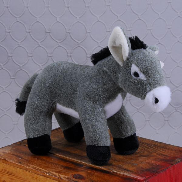 Cute Stuffed Donkey