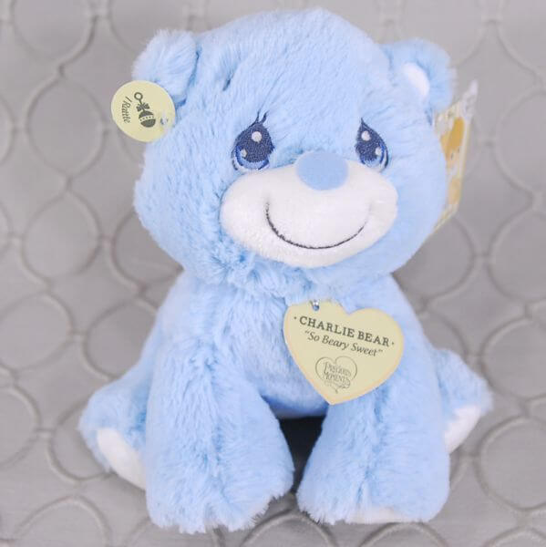Blue Bear Rattle
