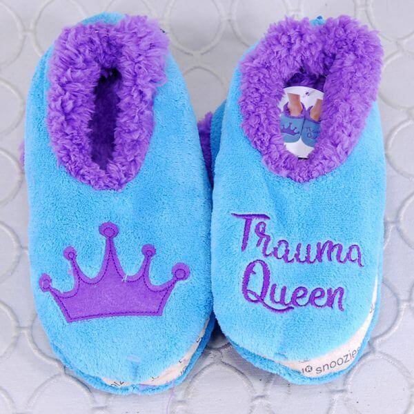Trauma Queen Snoozies Slippers