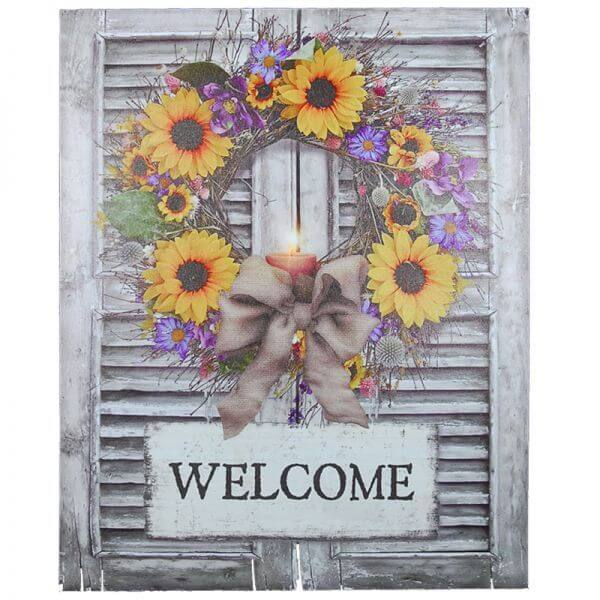 Welcome Wall Art