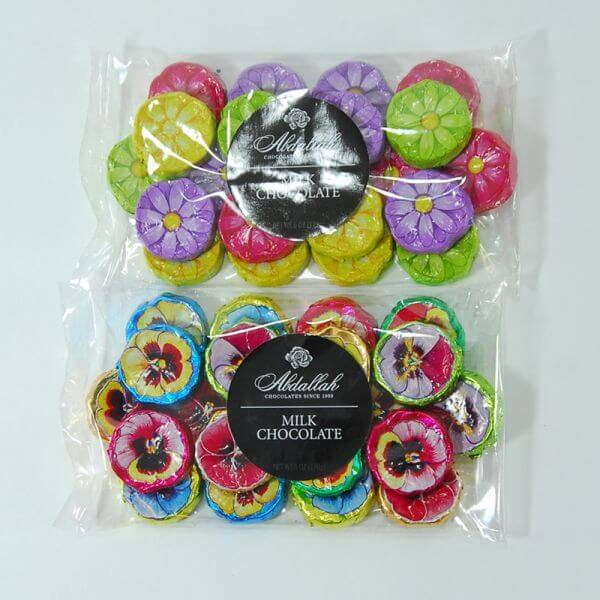 Abdallah Chocolate Flower Coins