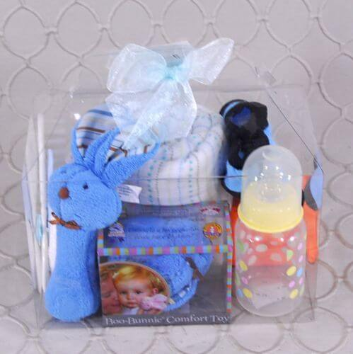 Baby Boy Boo-Bunnie gift to go