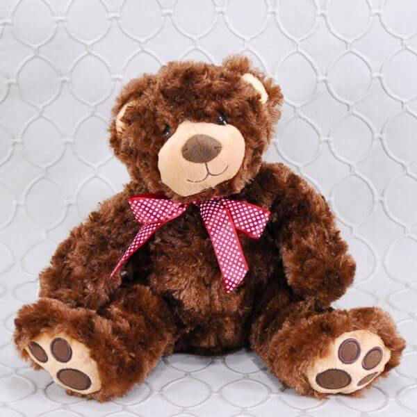 Lil' Plush Brown Bear