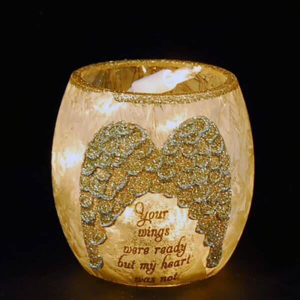 Angel Wing Votive
