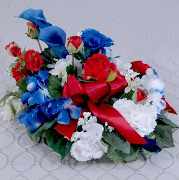 Cemetery Silk Arrangement #333