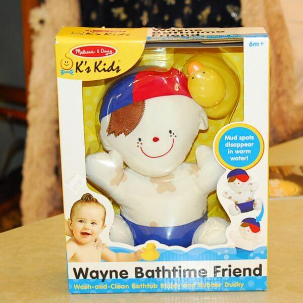 Wayne Bathtime Friend