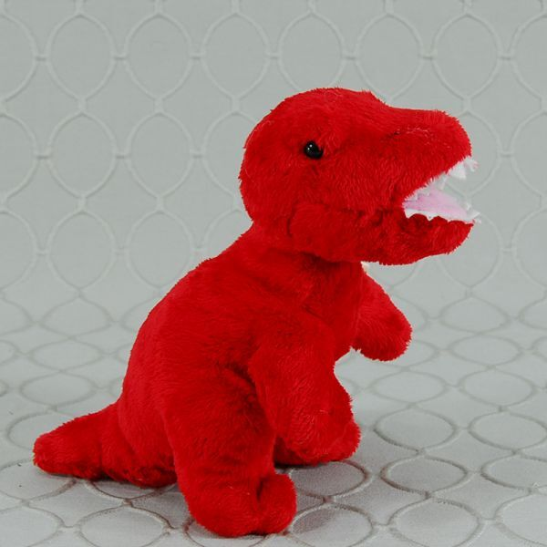 Red T-rex plush