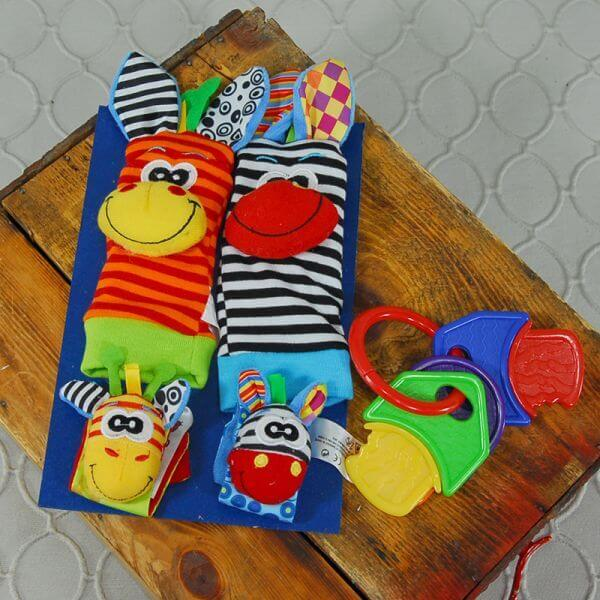 Baby activity and sock set