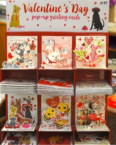 Valentine Pop-up cards