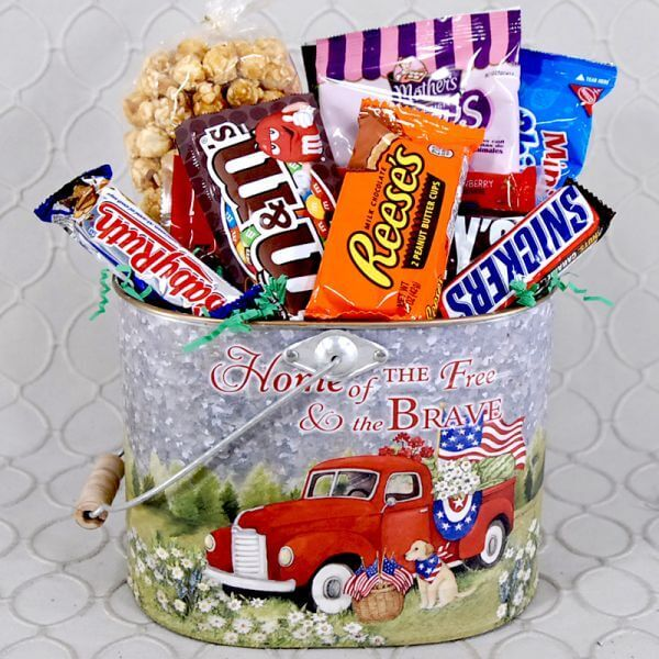 Red Truck Goodie Basket #2