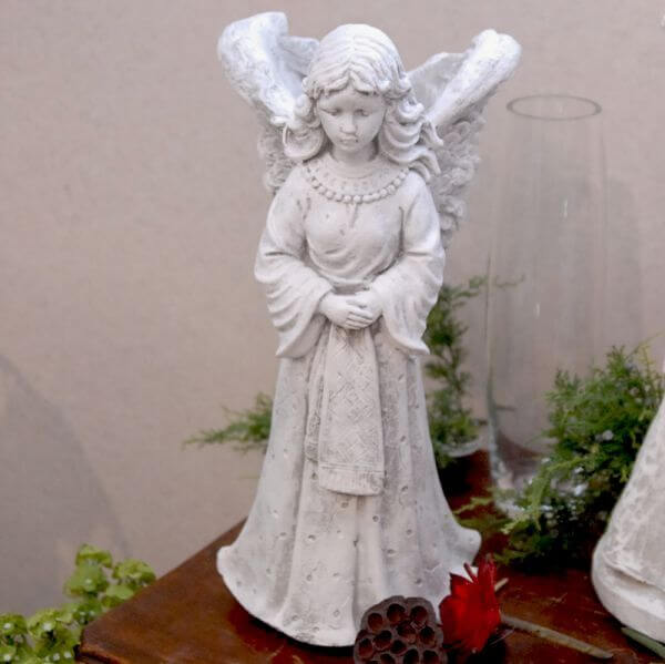Cement Angel Figurine #439