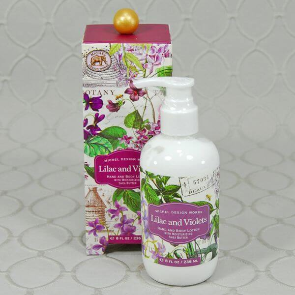 Lilac and Violet Hand and Body lotion