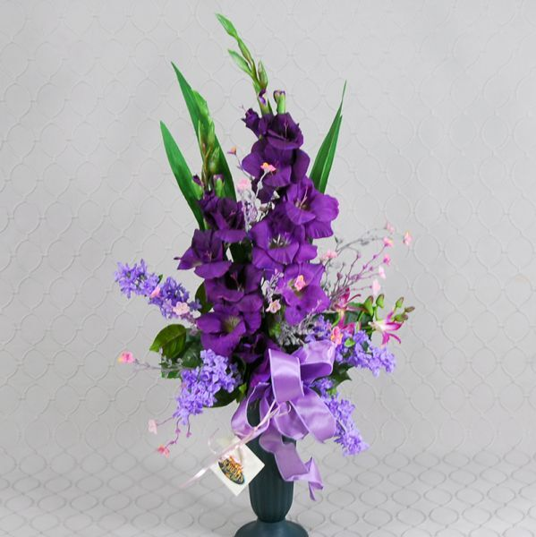 Purple Memorial Silk