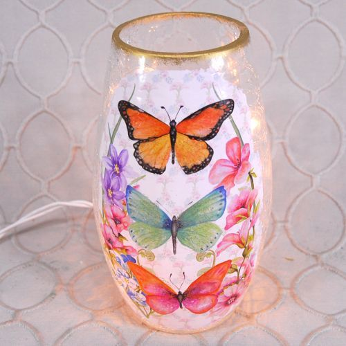Butterfly Tall Votive Light
