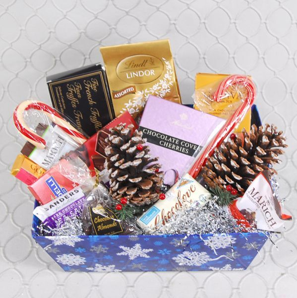 Chocolate Lovers Holiday Basket