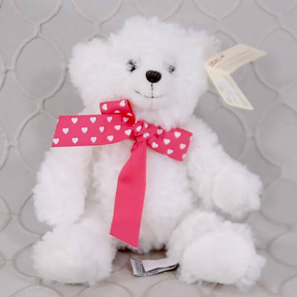 White Bear Stuffed Animal