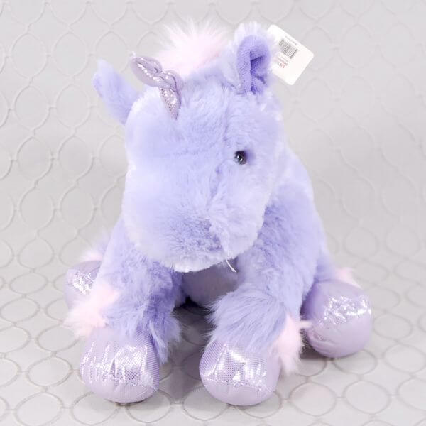Lavender Unicorn Stuffed Animal