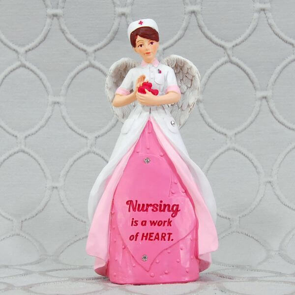 Heart of AngelStar Figurine - Nurse
