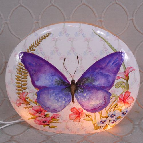 Oval Butterfly Light