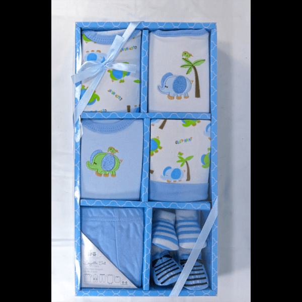 Cribmates Layette Set in Blue