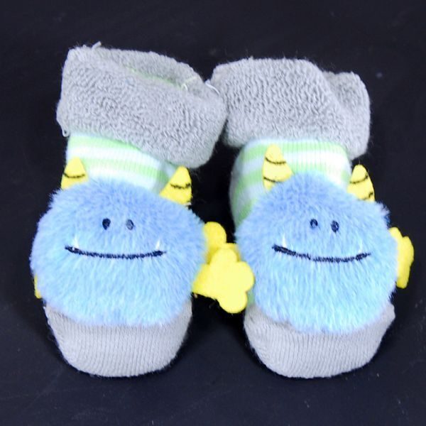Stephan Baby® Rattle Socks in Blue