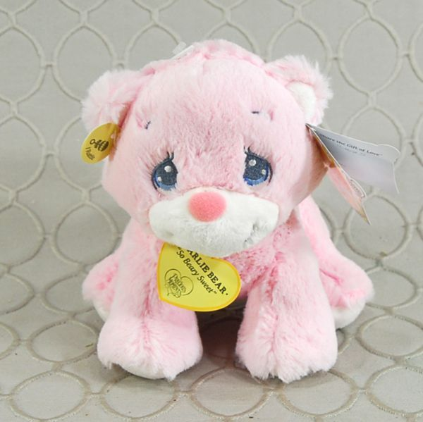 Baby Girl Rattle Stuffed Animal