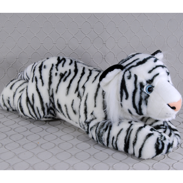 Stuffed White Tiger