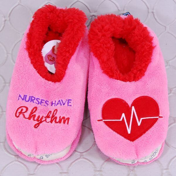 Nurses Have Rhythm Snoozies Slippers